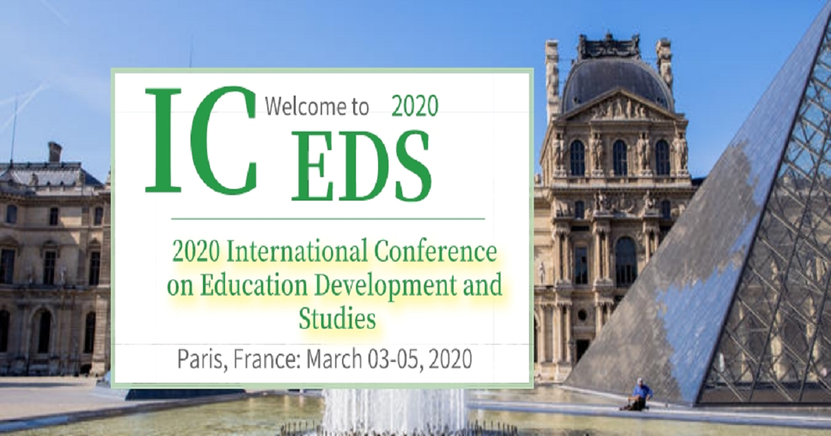 The 2020 International Conference on Education Development and Studies (ICEDS 2020)