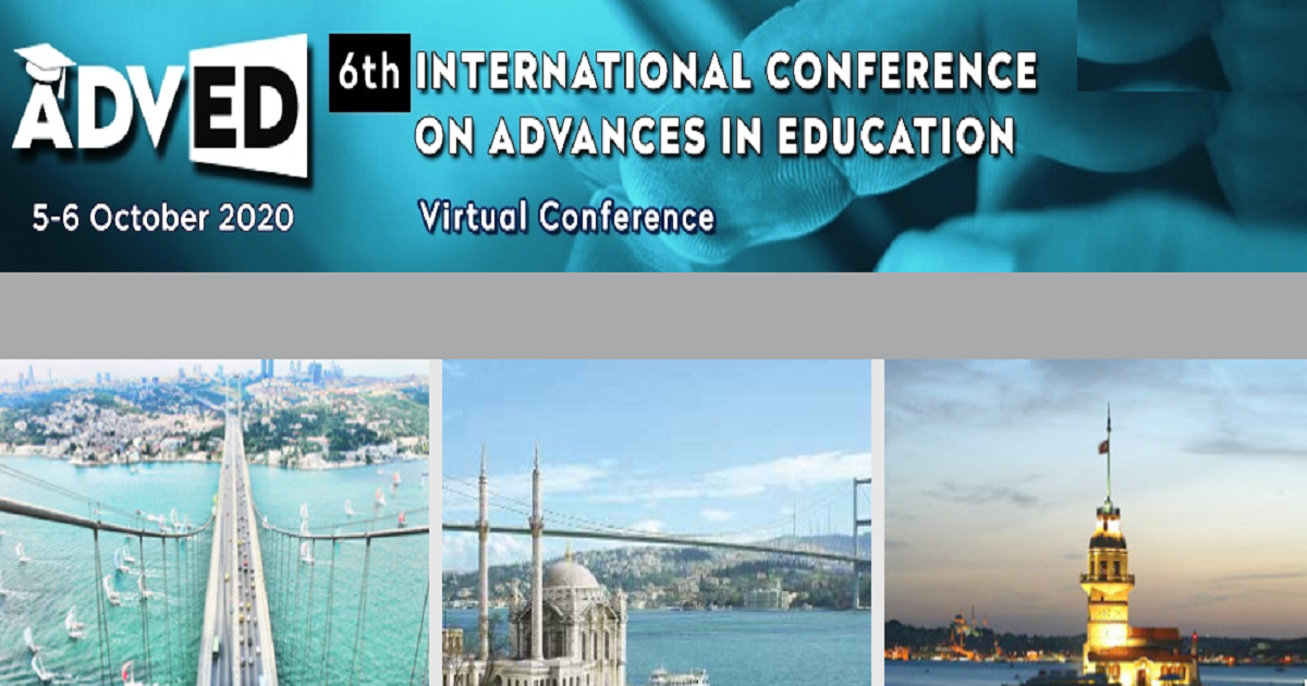 ADVED 2020- 6th International Virtual Conference On Advances In Education
