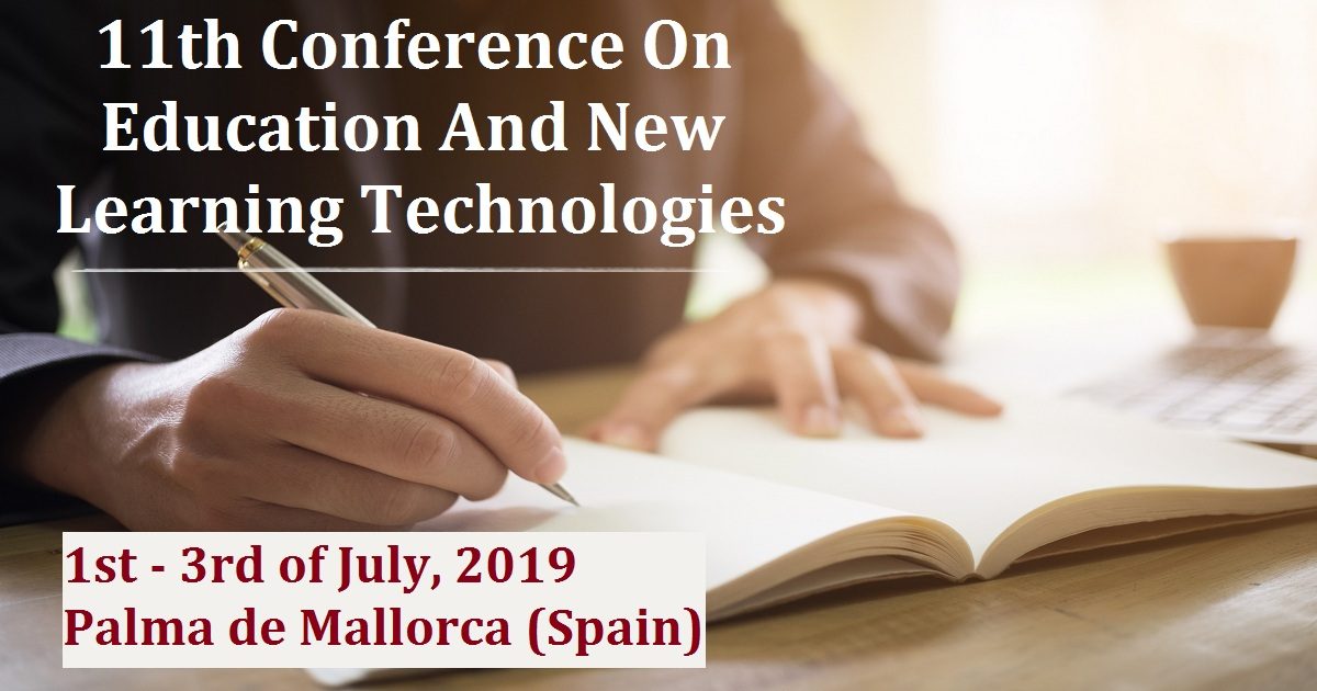 EDULEARN19 - 11th Conference On Education And New Learning Technologies