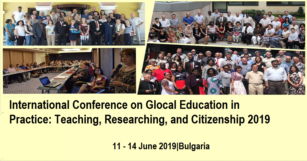International Conference on Glocal Education in Practice: Teaching, Researching, and Citizenship 2019