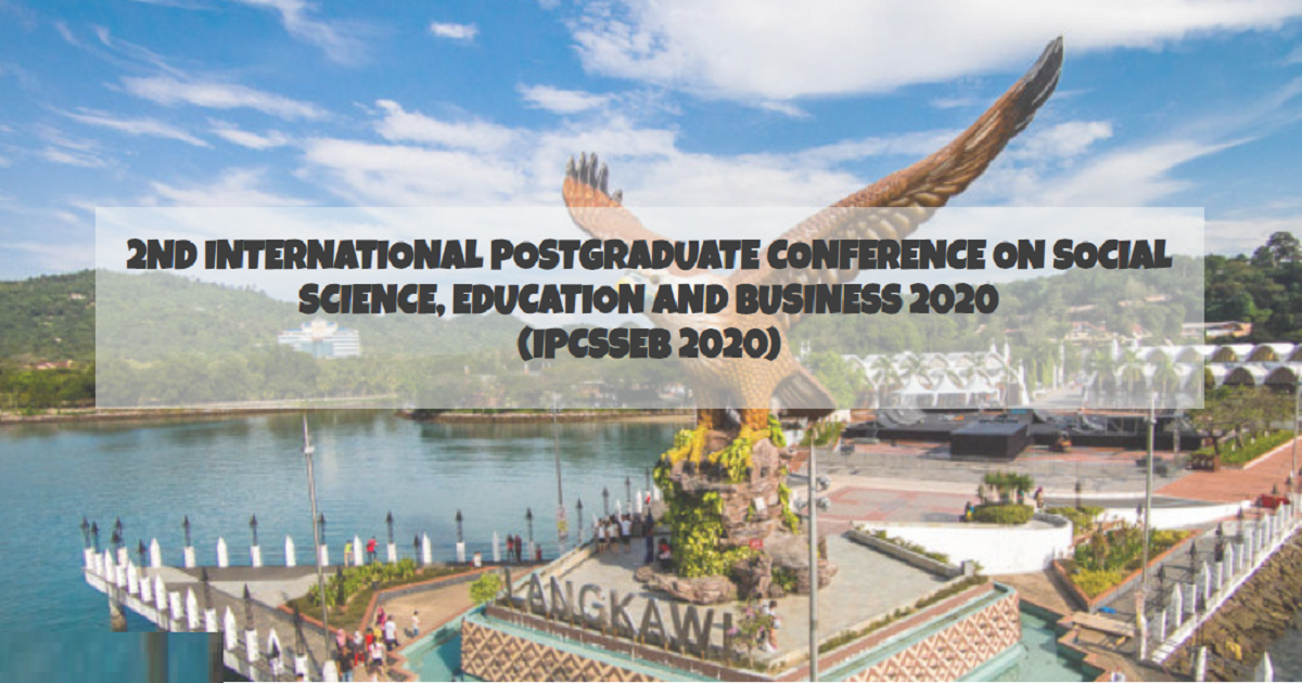 2ND INTERNATIONAL POSTGRADUATE CONFERENCE ON SOCIAL SCIENCE, EDUCATION AND BUSINESS 2020