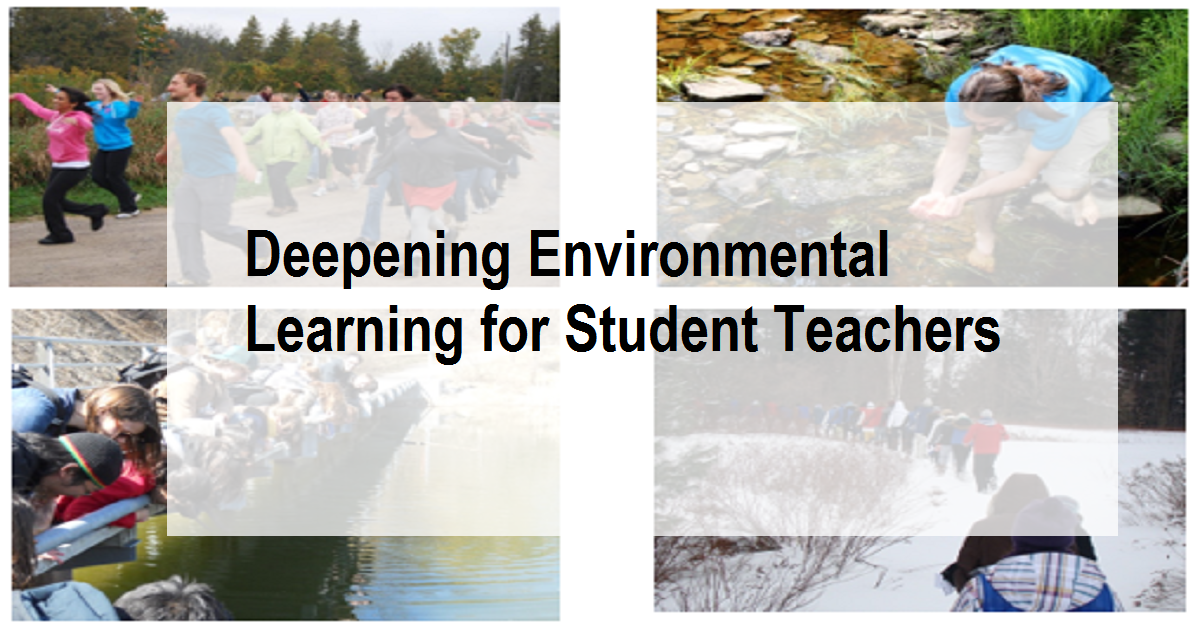 Deepening Environmental Learning for Student Teachers