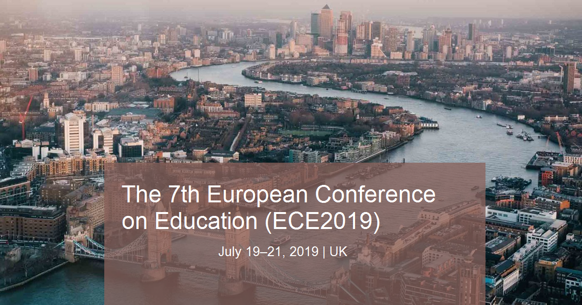 The 7th European Conference on Education (ECE2019)