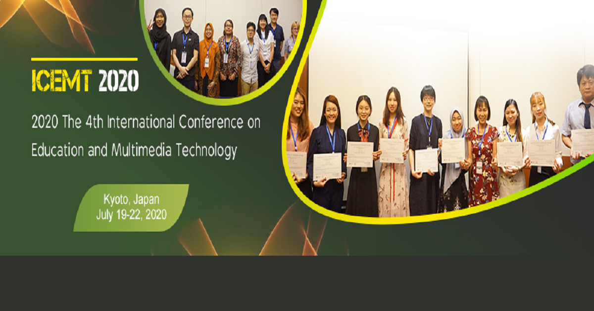 The 4th International Conference on Education and Multimedia Technology (ICEMT 2020)