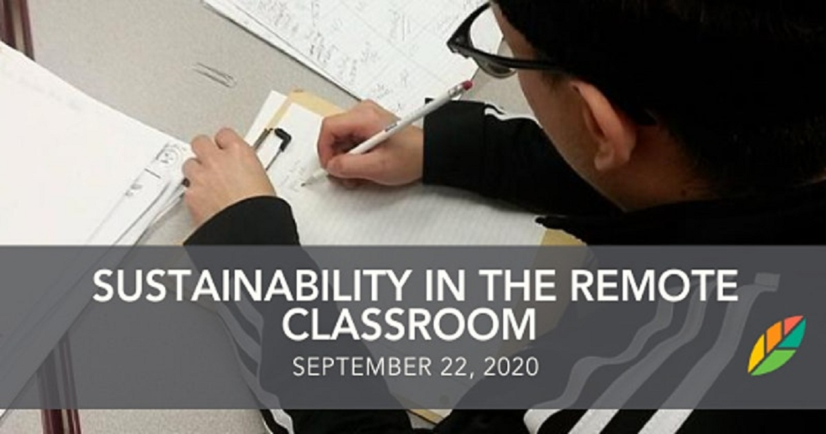 EcoRise: Sustainability in the Remote Classroom