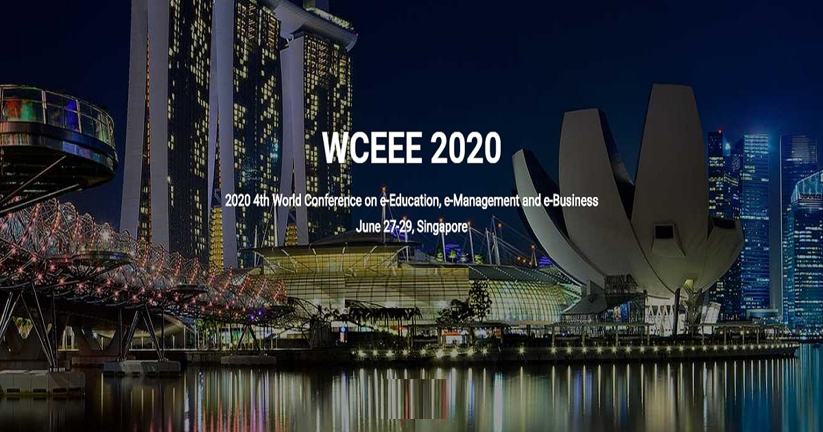 2020 4th World Conference on e-Education, e-Management and e-Business