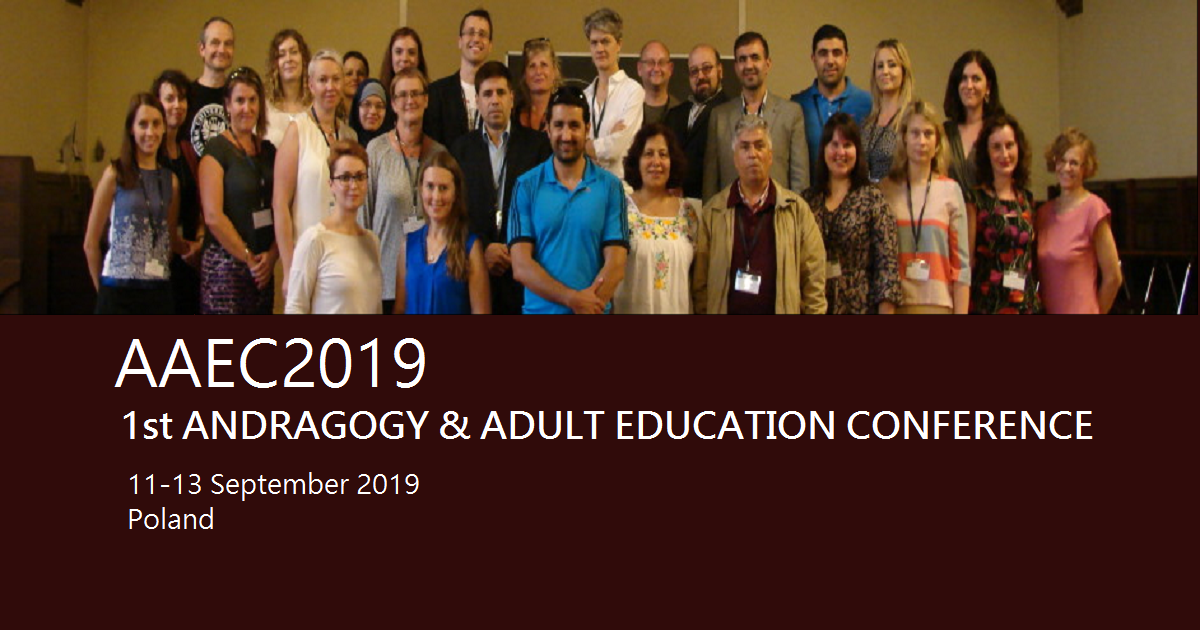 AAEC2019 1st ANDRAGOGY & ADULT EDUCATION CONFERENCE