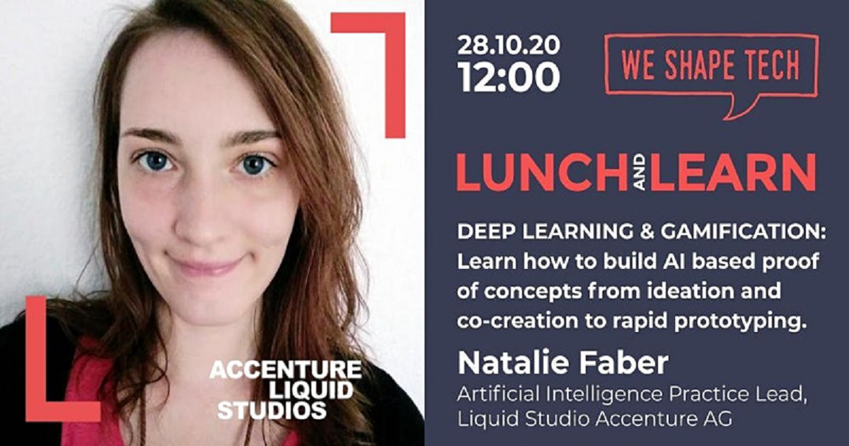Lunch & Learn Webinar with Natalie Faber on Deep Learning & Gamification