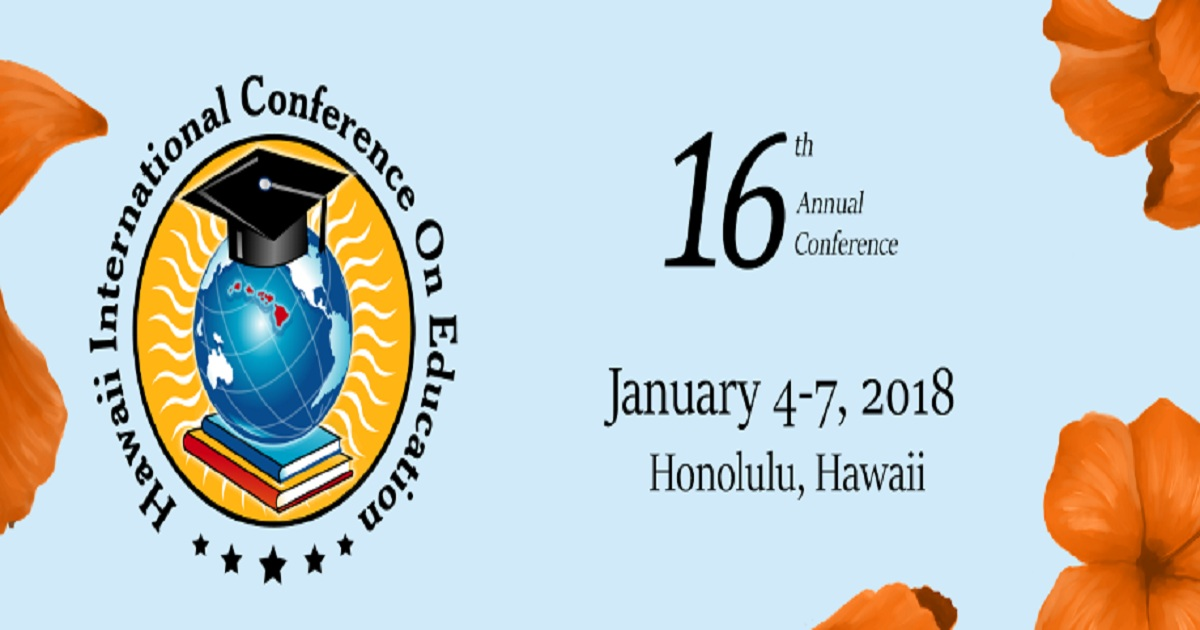 16th Annual Hawaii International Conference on Education