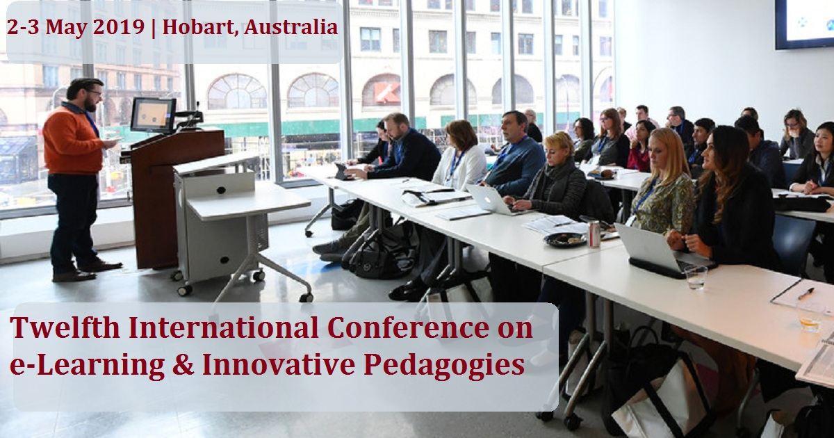 Twelfth International Conference on e-Learning & Innovative Pedagogies