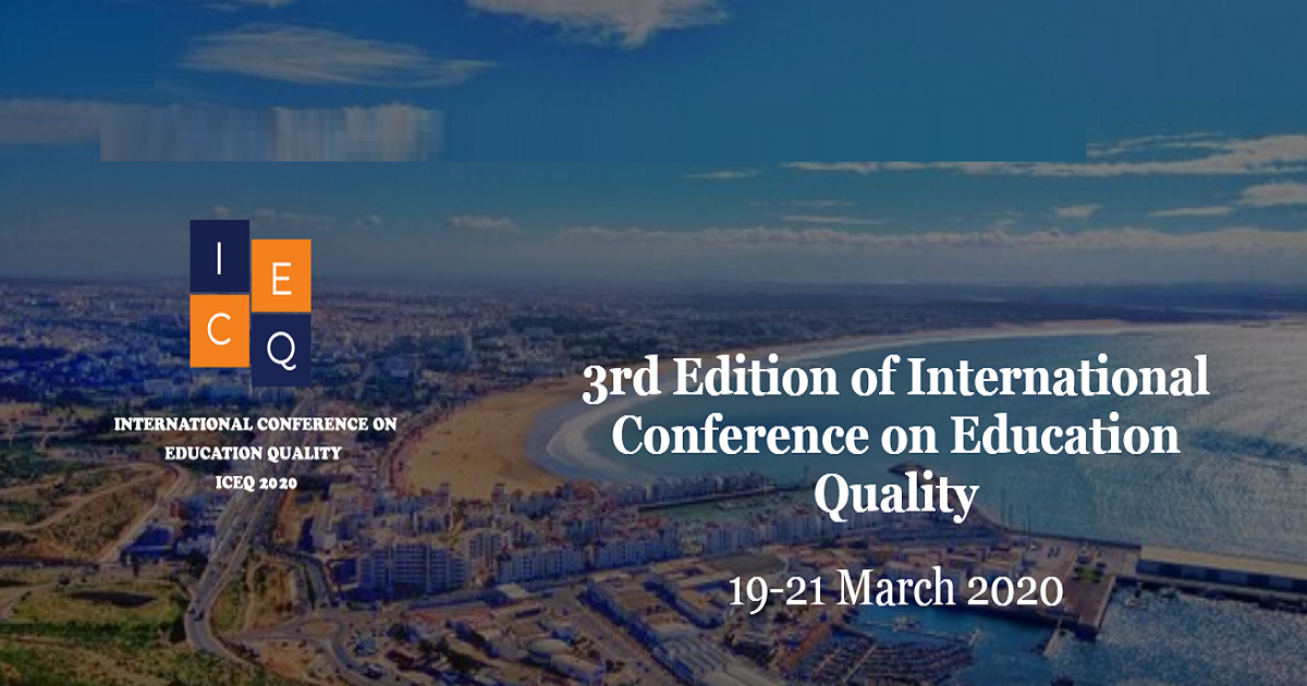 3rd Edition of International Conference on Education Quality