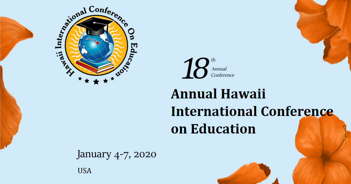 The 18th Annual Hawaii International Conference on Education