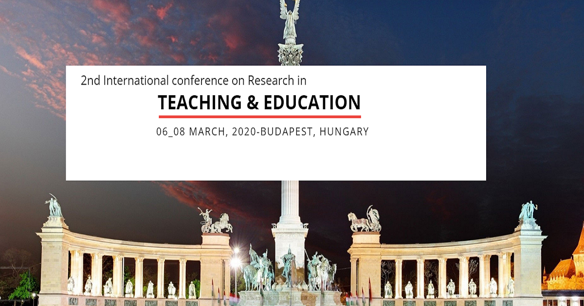 2nd International Conference on Research in Teaching and Education