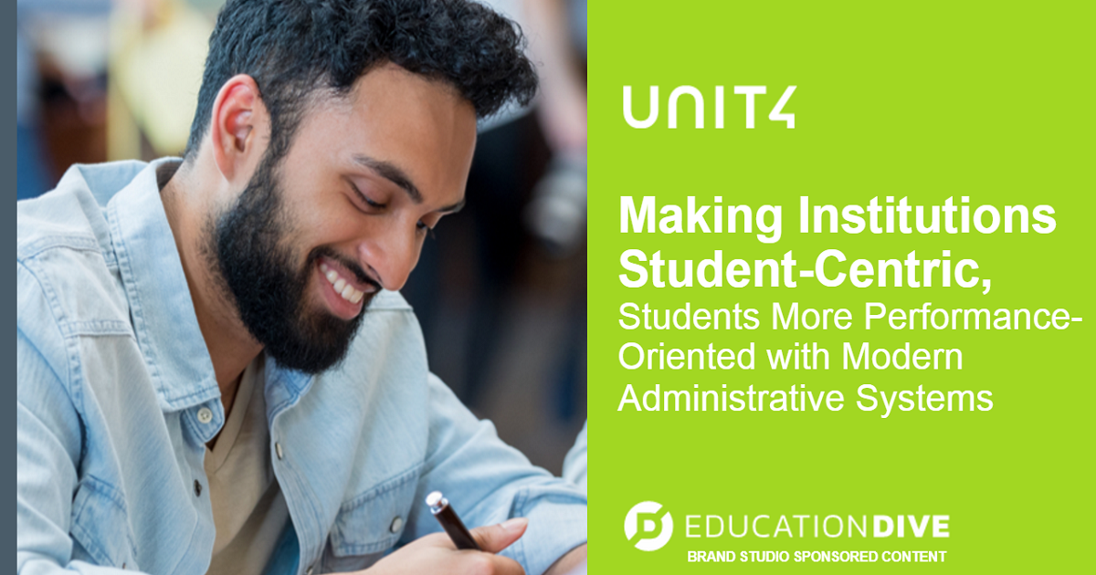 Making Institutions Student-Centric: Students More Performance-Oriented with Modern Administrative Systems