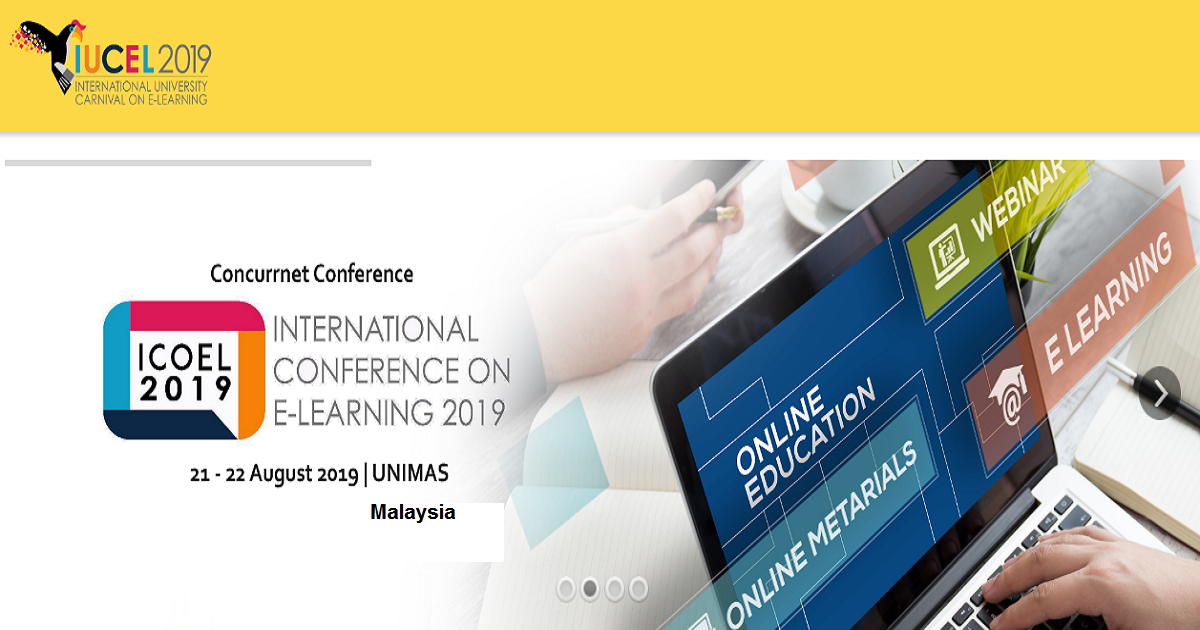 International University Carnival on E-Learning (IUCEL) 2019