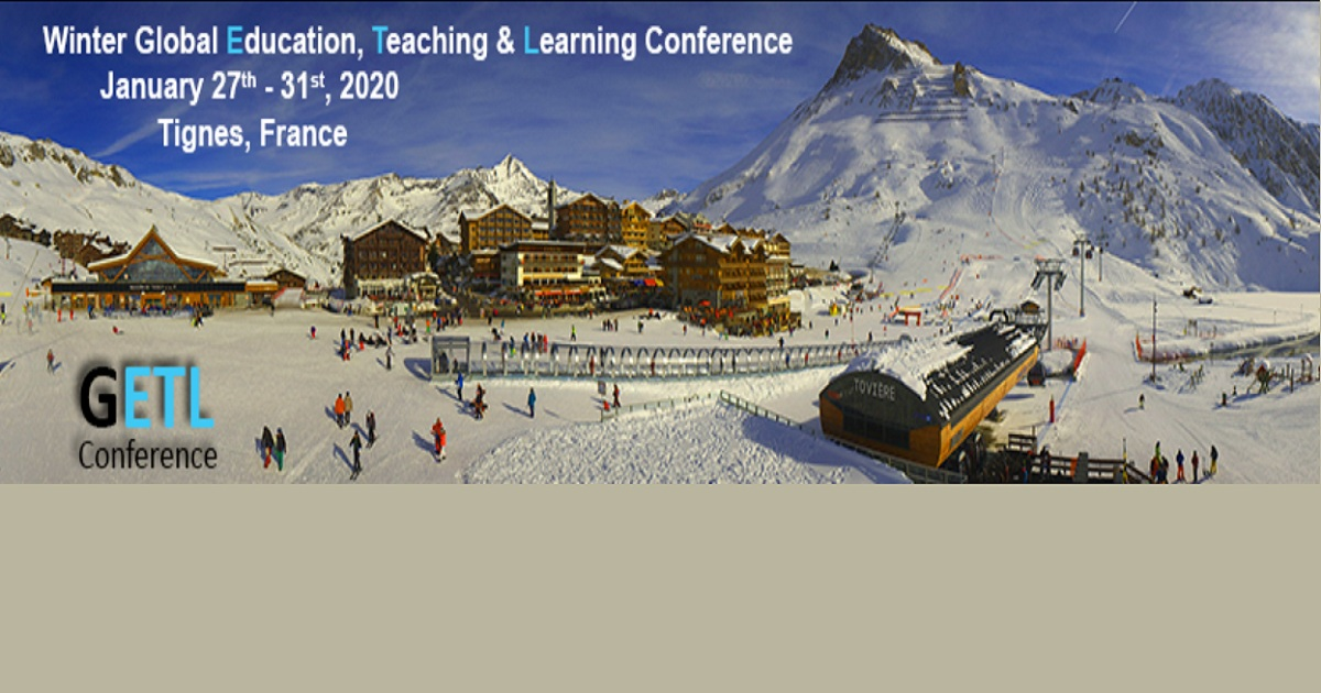 Winter Global Education, Teaching & Learning Conference 2020