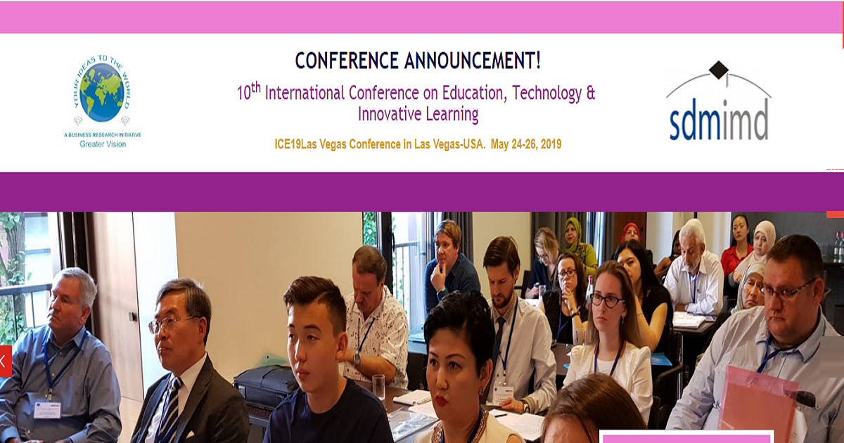 10th International Conference on Education, Technology & Innovative Learning