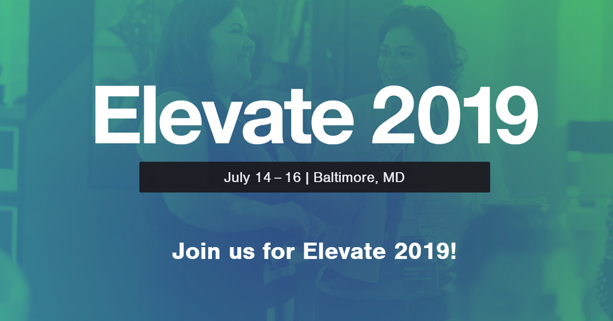 Elevate 2019 : 2nd annual conference on improvement and accountability in teaching and learning