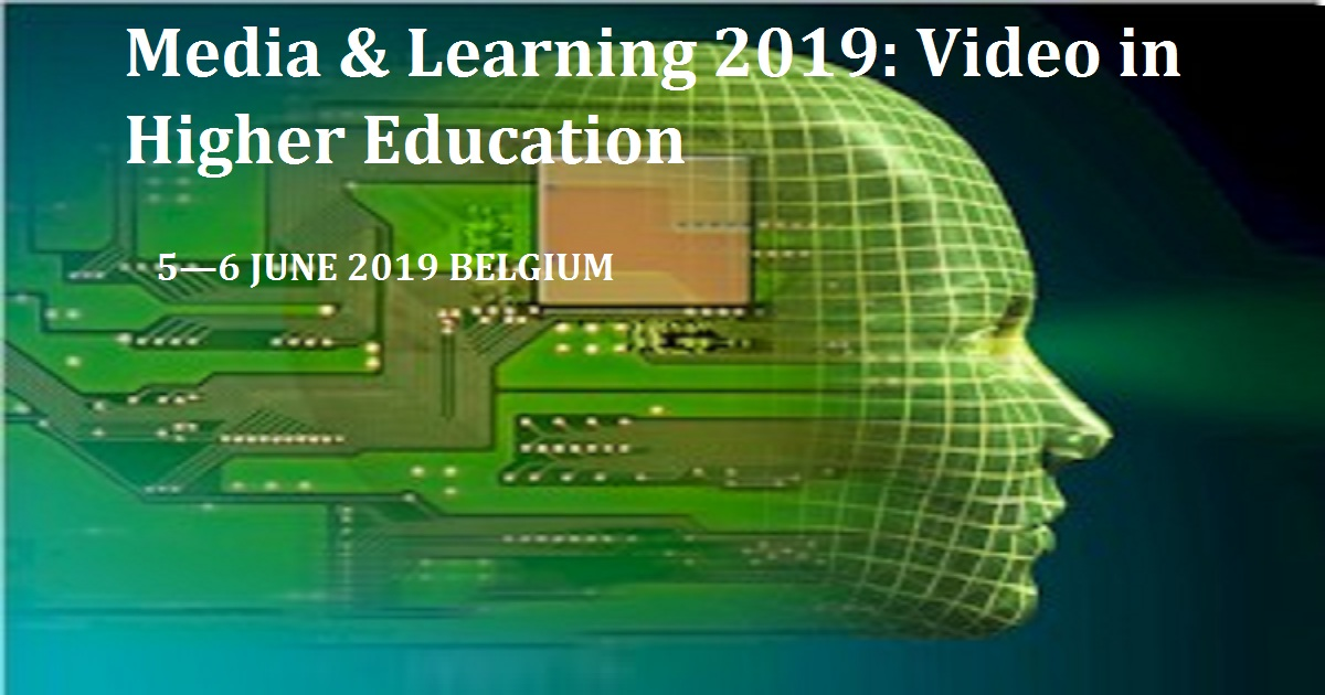 Media & Learning 2019: Video in Higher Educaion