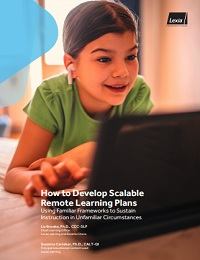 HOW TO DEVELOP SCALABLE REMOTE LEARNING PLANS