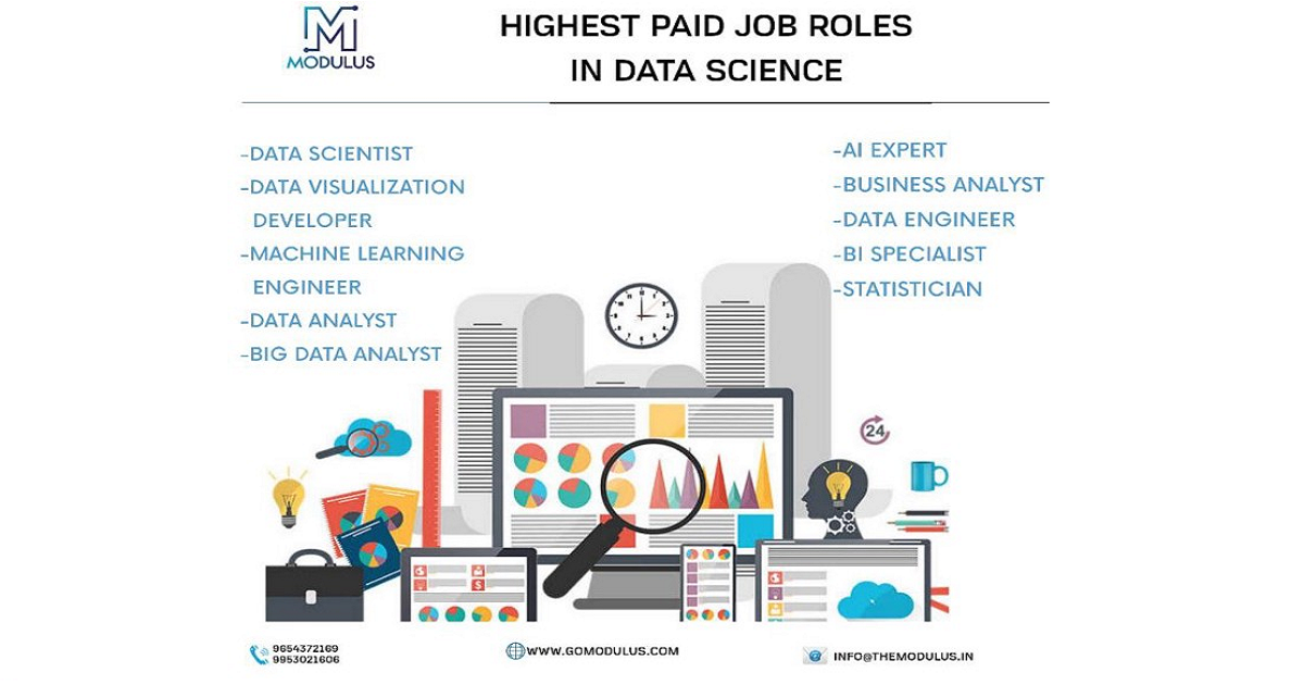 WHAT ARE THE HIGHEST PAYING JOBS ROLES IN THE DATA SCIENCE INDUSTRY?
